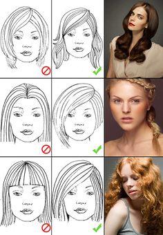 Yüz Şeklinize Göre Saç Modeli Seçimi Yapın