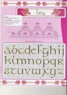 Cross-stitch Upper & Lower Case ABCs, part 2...    Gallery.ru / Фото #119 - Алфавит - anethka