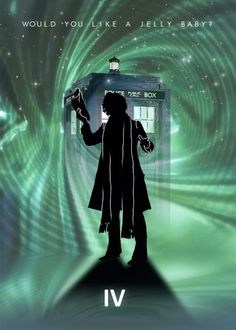 EXCLUSIVE DOCTOR WHO STORE David Tennant with TARDIS 24x36 BBC Limited Poster