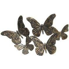 Butterflies Metal Wall Decoration - Hobby Lobby