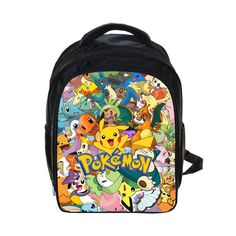 Boys Backpack Bag Anime Pokemon Pikacun Students School Bags Girls Daily s  Children Bag Kids Schoolbags Best Gift AT 61 4 2aaf22e745902