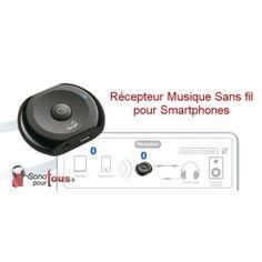 Transmetteur Audio Bluetooth pour pack sono: Vos amis choisissent la musique avec leur smartphone!