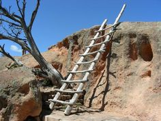 Tsankawi is the unexcavated portion of Bandelier National Monument and is well worth a visit.