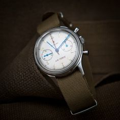 Seagull 1963 Air Force Watch with Crystal Back