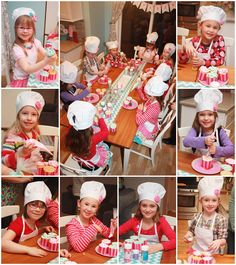 5M Creations: Madison's Bake Shop - Baking Birthday Party - Printable Party Line