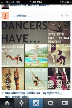 We'll...I am a soccer player and I self taught gymnast..... Sooo
