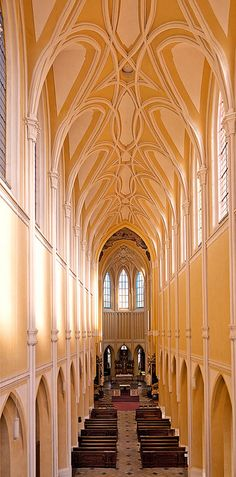 Church of the Assumption of Our Lady and Saint John the Baptist in Kutná Hora, Czech Republic