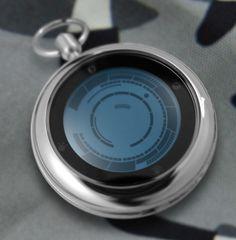 TokyoFlash Kisai Rogue Touch Pocket Watch