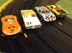 Aurora Model Motoring Tuff Ones HO T Jet Slot Car Set for Race Tracks | eBay