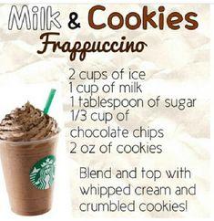diy starbucks recipies | Starbucks Milk & Cookies Frappuccino