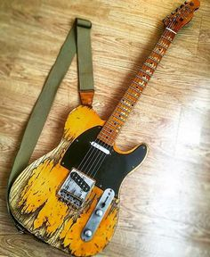Battered tele blues tone On The Road