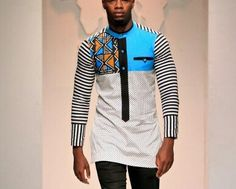 African Clothing for Men -African Print Clothing for Men -Wax Cotton Print…