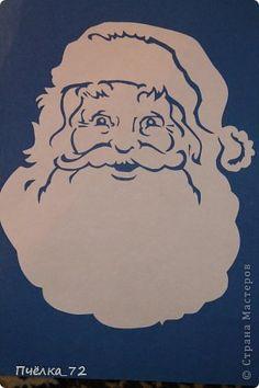Вытынанка - Дедушка Мороз