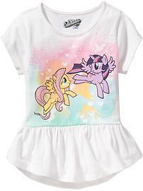 My Little Pony® Peplum-Hem Tees for Baby