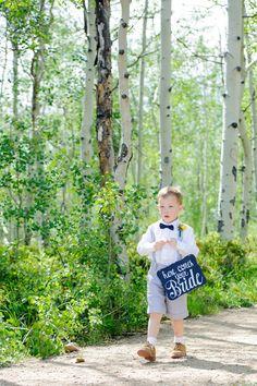 Light Gray Shorts and Suspender Ring Bearer Attire | Melissa Yocum Photography https://www.theknot.com/marketplace/melissa-yocum-photography-castle-rock-co-876359 |