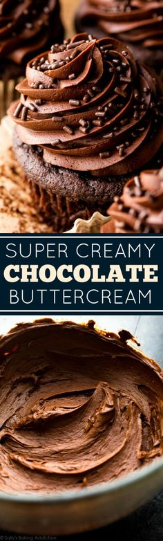 Favorite Chocolate Buttercream | Sally's Baking Addiction