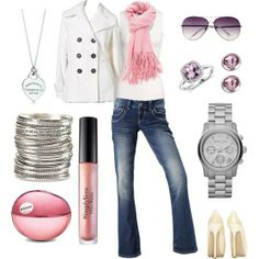 Pretty winter outfit! - Click image to find more Women's Fashion Pinterest pins