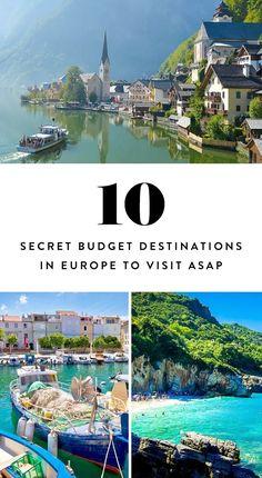 7 Secret Budget Destinations in Europe to Visit ASAP via @PureWow
