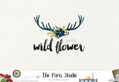 Watercolor Floral Antler Logo Pay As You Go Custom Logo Design Website Logo Blog Logo Business Branding Logo Boutique Logo Deer Floral Logo   For Package Details please go to - www.etsy.me/1Qr20Kd  ***A pre-purchase consultation is required for all custom logo design packages at my shop. Please convo me before you place your order. Thank you.***    --------------------------------------------  ABOUT US https://www.etsy.com/shop/TheParisStudio#about   -----------------...