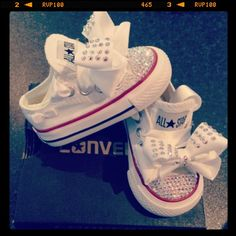 Custom Converseand theyre for babies tooo I WANT THESE SO BAD