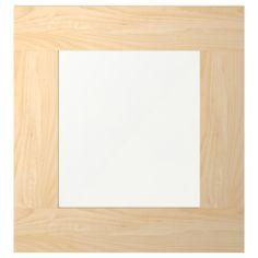 BESTÅ VARA Skleněné dveře - čiré sklo/černohnědá - IKEA