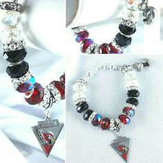 Do you have your gear? On sale now Arizona Cardinals Charm Bracelet Check out this item in my Etsy shop https://www.etsy.com/listing/264415662/nfl-arizona-cardinals-logo-charm