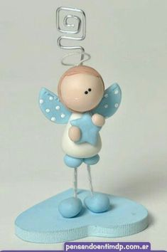 Cute Polymer Clay, Polymer Clay Dolls, Clay Angel, Baby Deco, Christmas Clay, Clay Figurine, Clay Ornaments, Clay Charms, Cold Porcelain