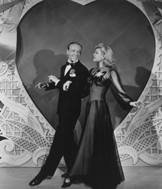 """Fred Astaire & Marjorie Reynolds dance to """"Be Careful, It's My Heart"""" from Holiday Inn."""
