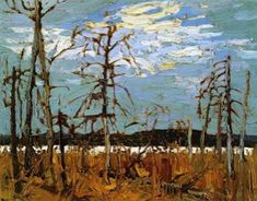 Tom Thomson Tamarack Swamp, member Canadian Group of Seven artists Emily Carr, Group Of Seven Artists, Group Of Seven Paintings, Contemporary Landscape, Landscape Art, Landscape Paintings, Oil Paintings, Canadian Painters, Canadian Artists