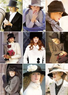 All shapes and sizes..Hats make me Happy. It's in my blood!