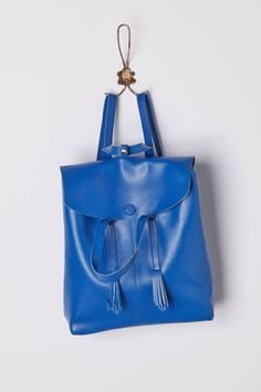 Cobalt Blue Backpack