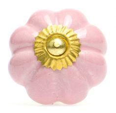 Bubblegum Ceramic Knob - Zakkia $7.99