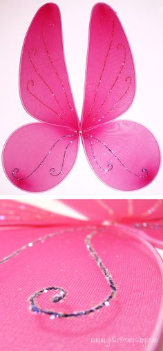 wings diy (site is in Russian, but the picture tutorial is easy to understand) Diy Fairy Wings, Diy Wings, Fall Crafts, Diy Crafts For Kids, Fairy Figurines, Holidays And Events, Girly Things, Creations, Halloween