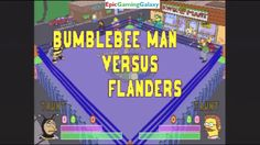 Ned Flanders VS Bumblebee Man In A The Simpsons Wrestling Match This video showcases Gameplay of Ned Flanders VS Bumblebee Man In A The Simpsons Wrestling Match