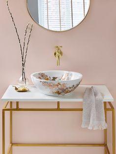 ZEINA WHITE — London Basin Co. Room Interior Design, Luxury Interior, Interior Design Inspiration, Modern Interior, Design Ideas, Small Bathroom Inspiration, Bathroom Ideas, Small Vintage Bathroom, Zeina
