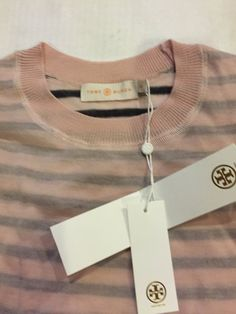 Check out Tory Burch Striped Wool Sweater Naia XS on Threadflip!