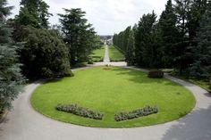 Il parco di Villa Acquaroli, una location per matrimoni e ricevimenti a Bergamo