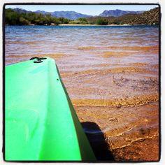 Daily Gratitude 4/13/14 #water #lake #kayak #exercise #workout #reflection