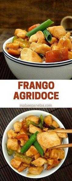 Frango Agridoce   Malas e Panelas