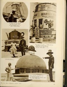 The famous Brown derby Restaurant Hollywood. The New Movie Magazine