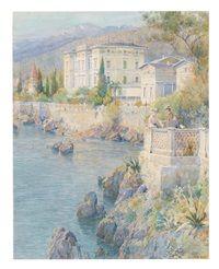 Villa an einem See in Oberitalien
