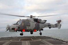 Royal Navy Fleet Air Arm AgustaWestland AW159 Lynx Wildcat.