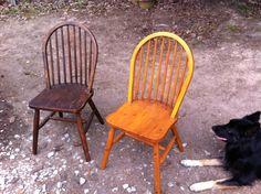Coup de cœur pour ces 2 chaises... Reste juste a choisir la couleur pour la suite !?!
