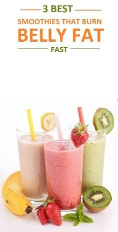 good diet to lose weight, carnitine weight loss, best weight loss shakes - Top 3 Smoothies That Will Burn Belly Fat Fast Weight Loss Meals, Weight Loss Shakes, Losing Weight Tips, Fast Weight Loss, Healthy Weight Loss, Lose Weight, Healthy Fats, Water Weight, Lose Fat