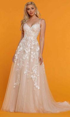 Layered Wedding Dresses, Simple Elegant Wedding Dress, Floral Wedding Gown, Sheer Wedding Dress, Wedding Dresses With Straps, Affordable Wedding Dresses, Applique Wedding Dress, Sweetheart Wedding Dress, Bridal Wedding Dresses