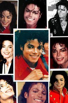 Michael Jackson and his smile