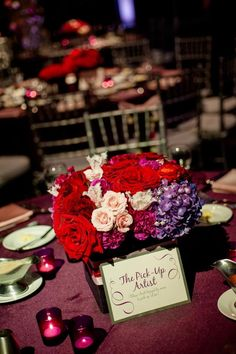 Red and Pink Inspiration From Texas Wedding - MODwedding