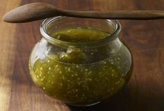 Tomatillo and Lime Jam (Mermelada de Tomate Verde con Limón)
