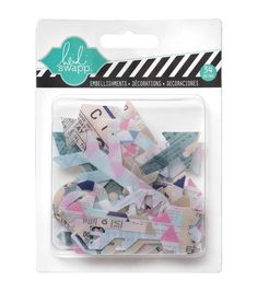 Hello Today Clear Pop Acrylic Embellishments