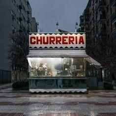 Churrería by Julio López Saguar.Love-Spain